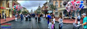 iPhone Pano Main Street USA
