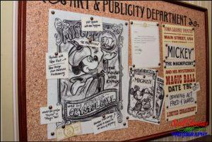 Art and Publicity Department Corkboard