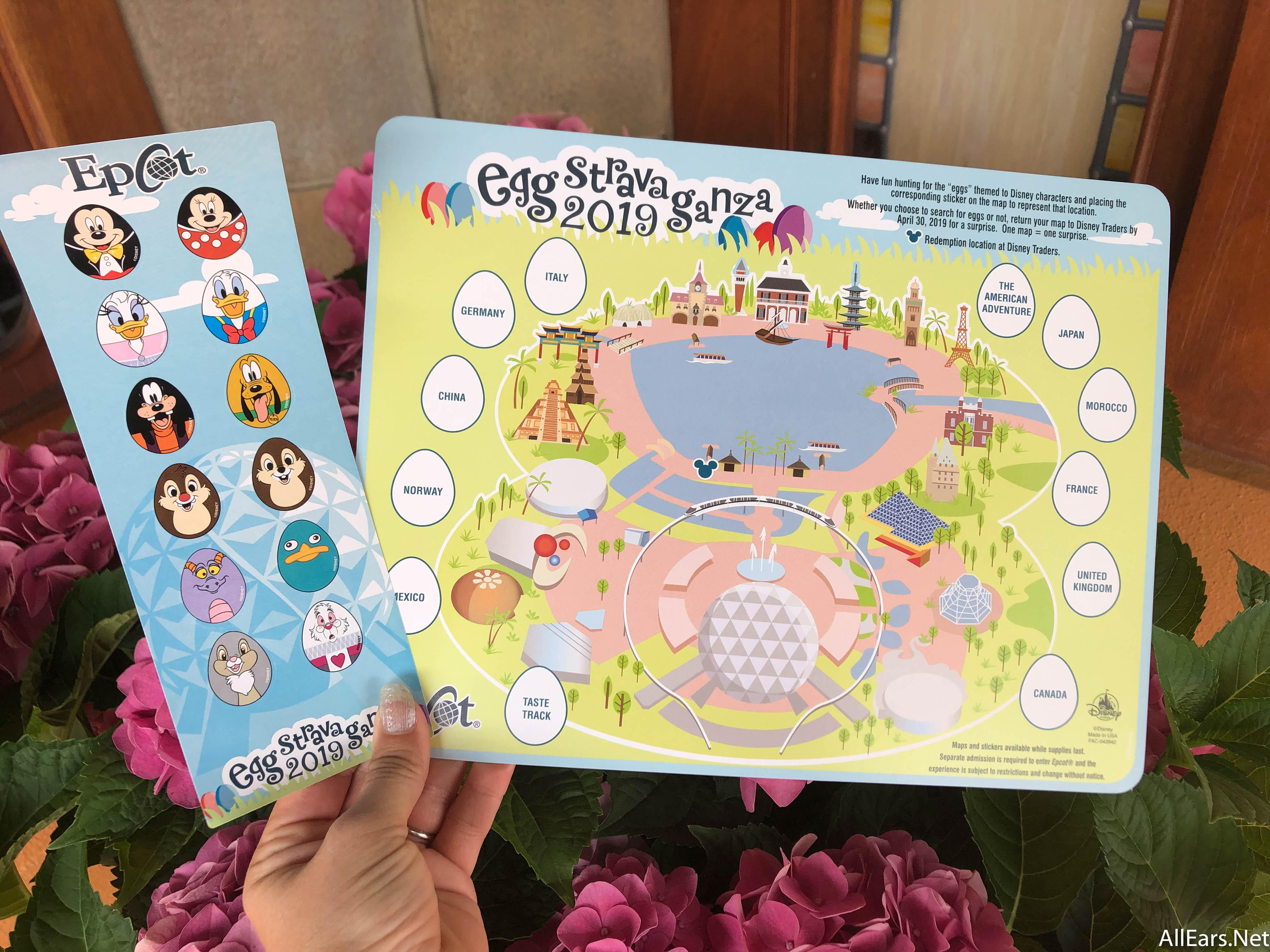 Disney World\'s 2019 Eggstravaganza Scavenger Hunt Has ...