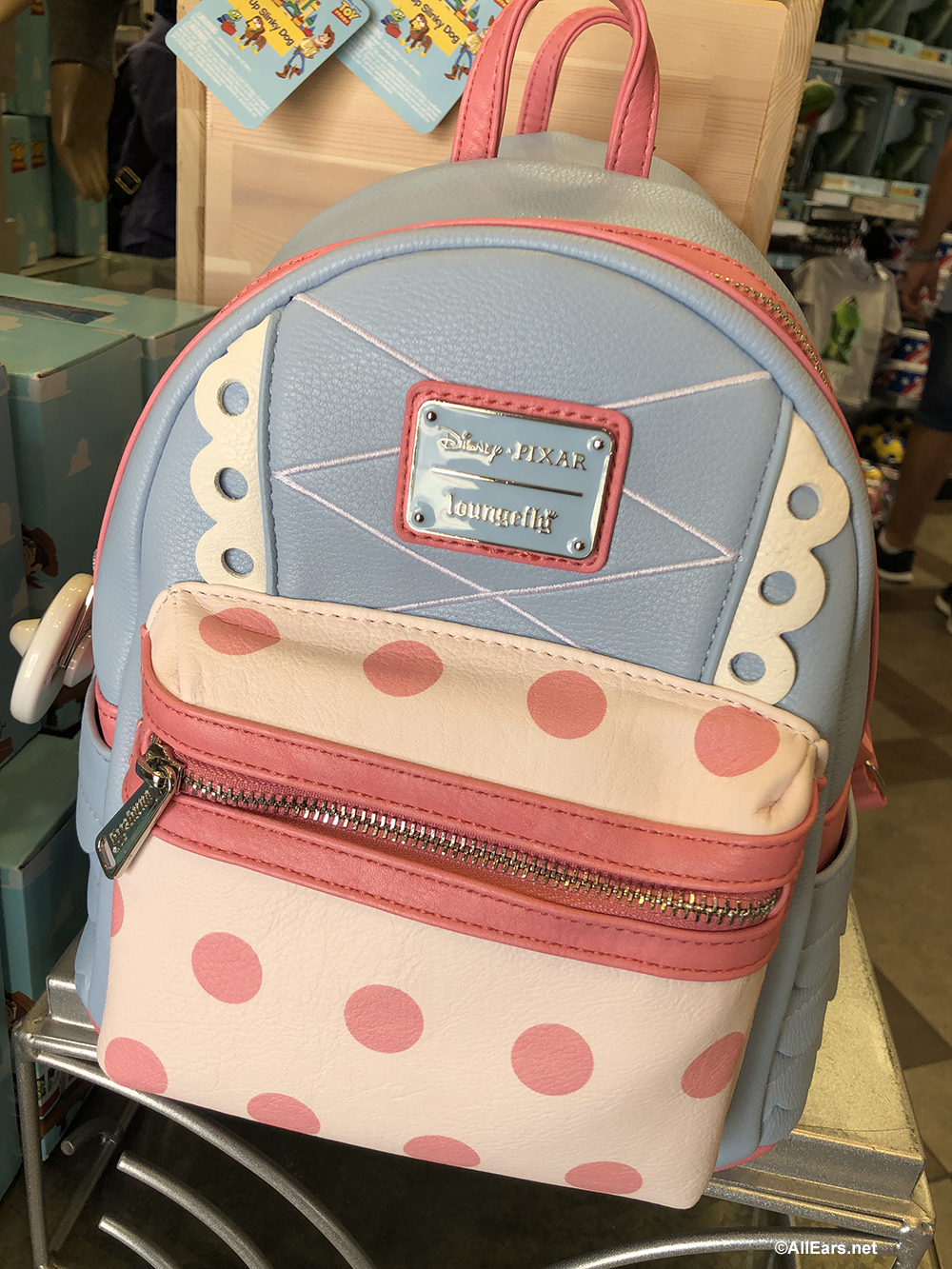 f86ddd33dcb New Loungefly Backpack Celebrates Toy Story s Bo Peep - AllEars.Net