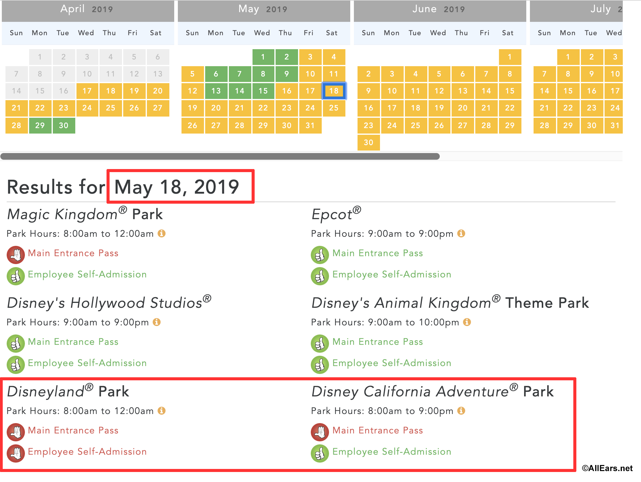 Disneyland Cast Member Passes Blocked Out For Star Wars: Galaxy's