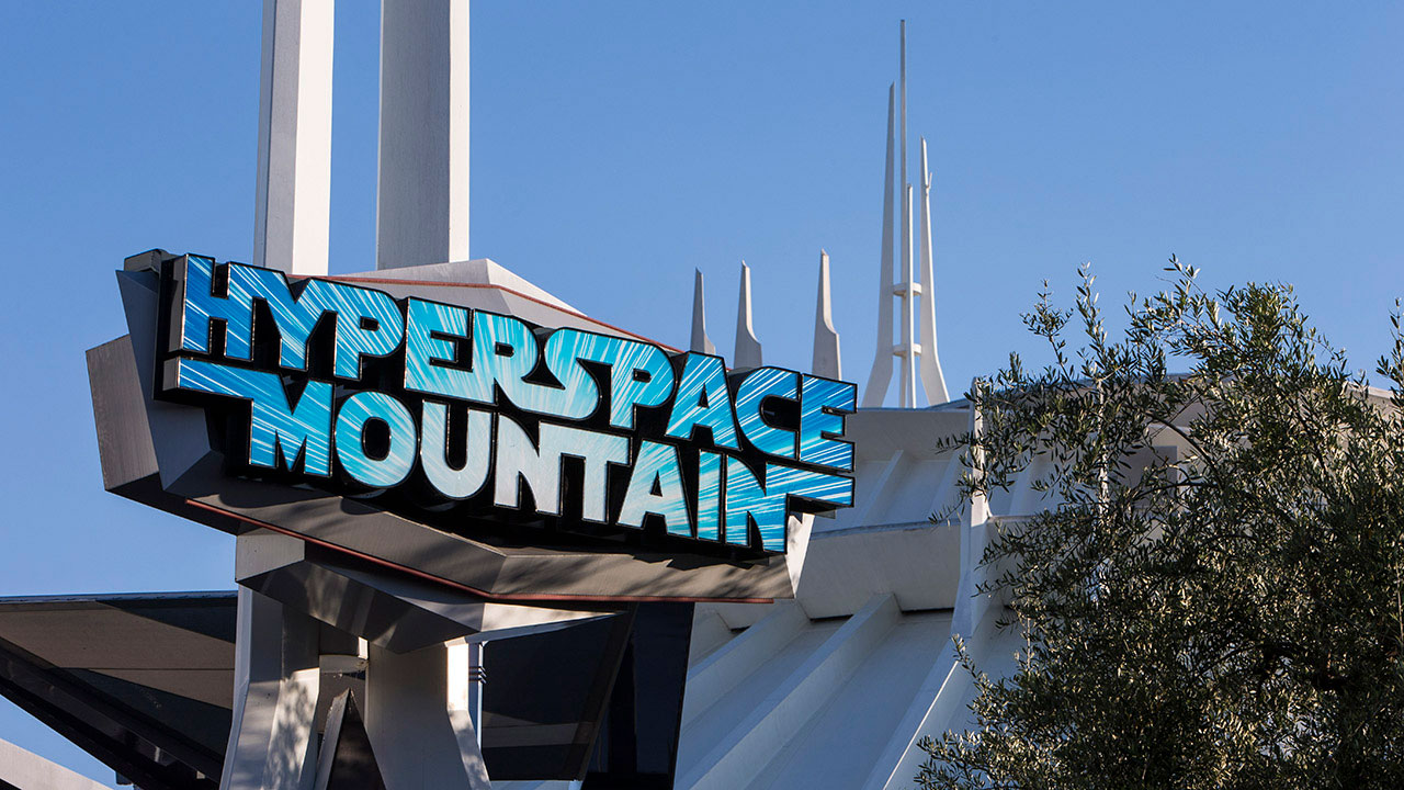 Hyperspace Mountain Extended Through Halloween at Disneyland