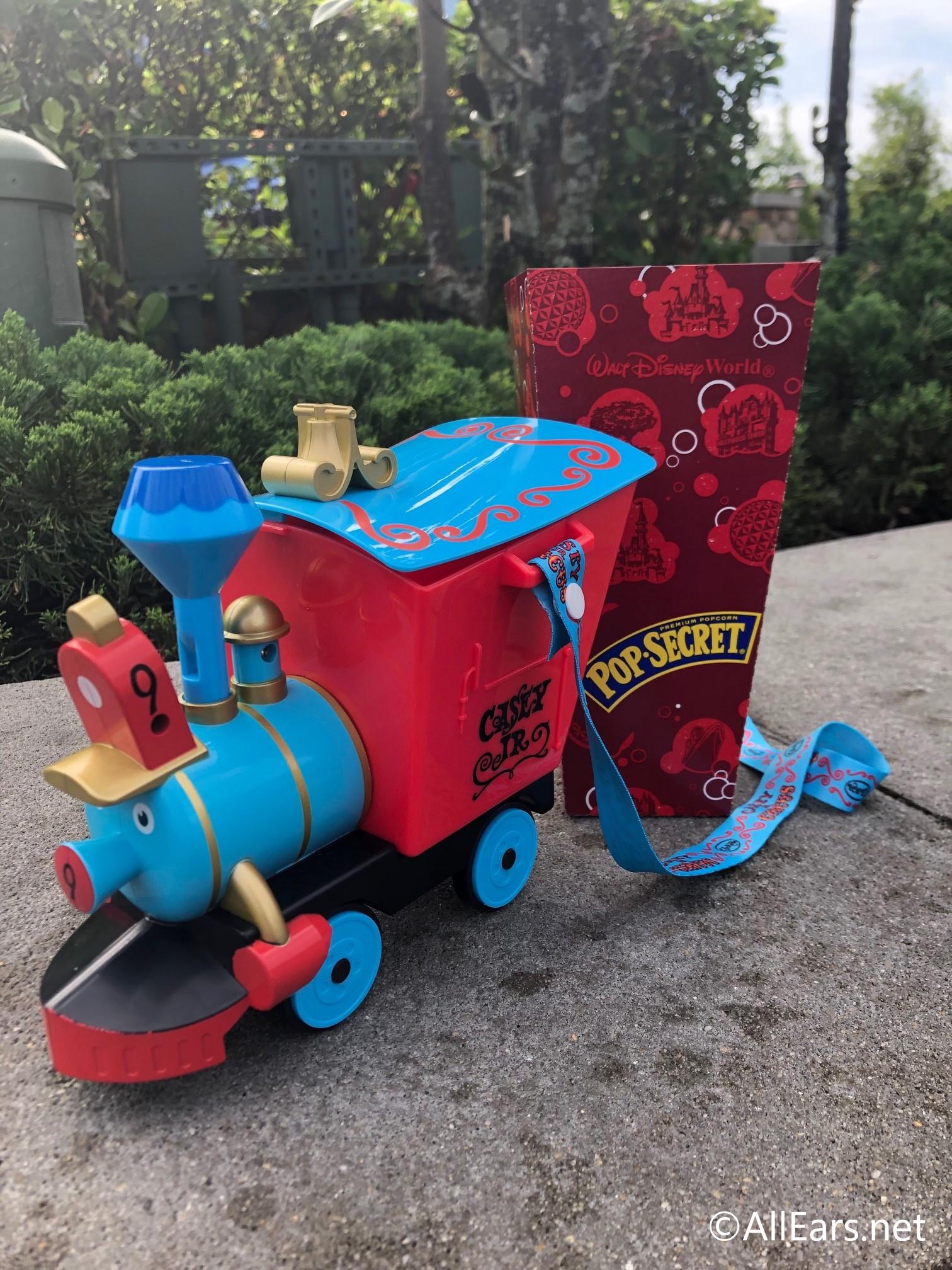 Disney Parks Disneyland 2019 Casey Jr Train Popcorn Bucket /& Dumbo Sipper Cup