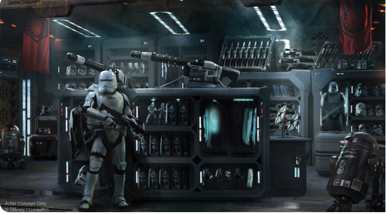 New concept artwork for star wars galaxy 39 s edge for Merchandising star wars