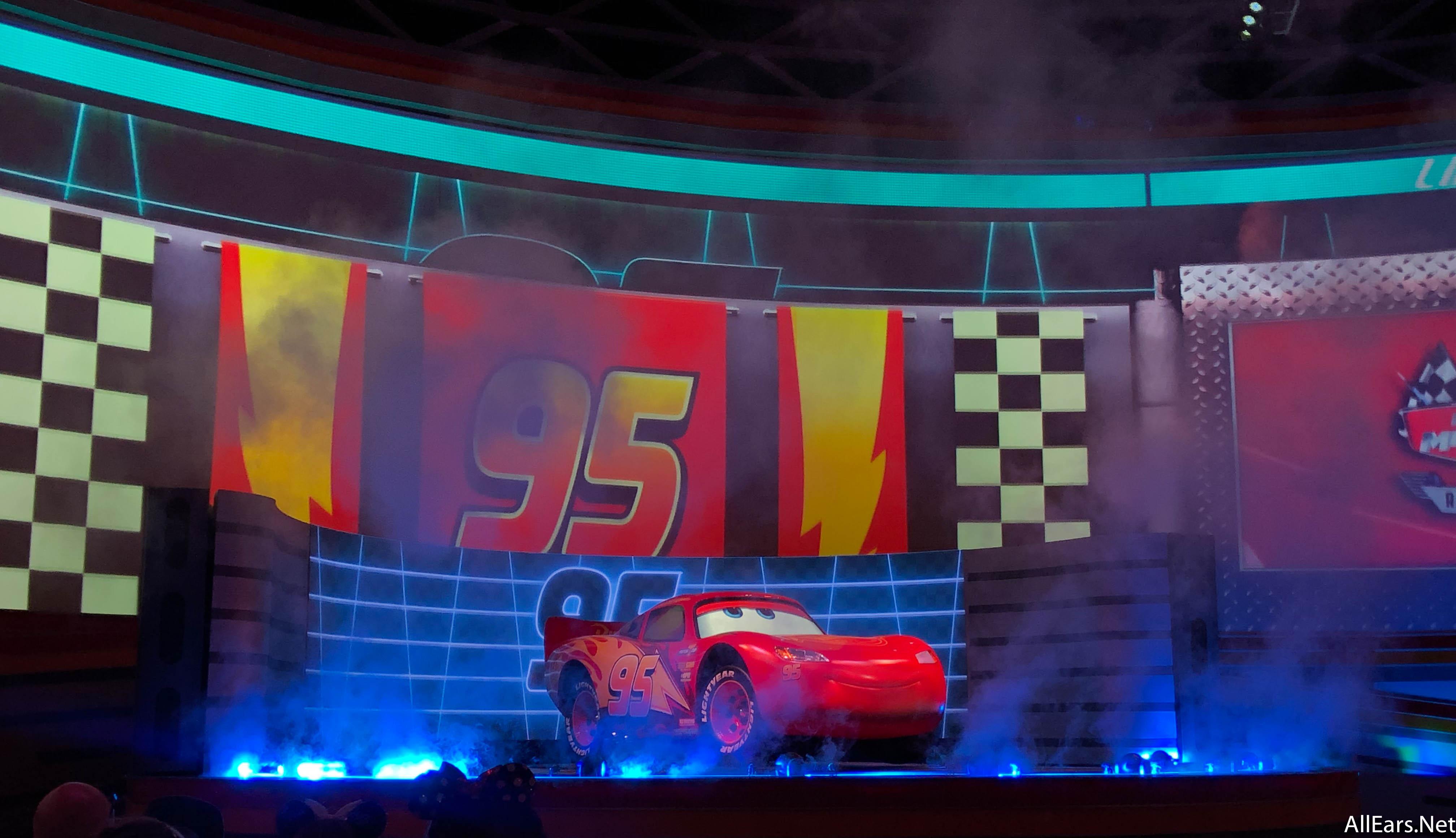 Lightning Mcqueen S Racing Academy Disney S Hollywood Studios Allears Net