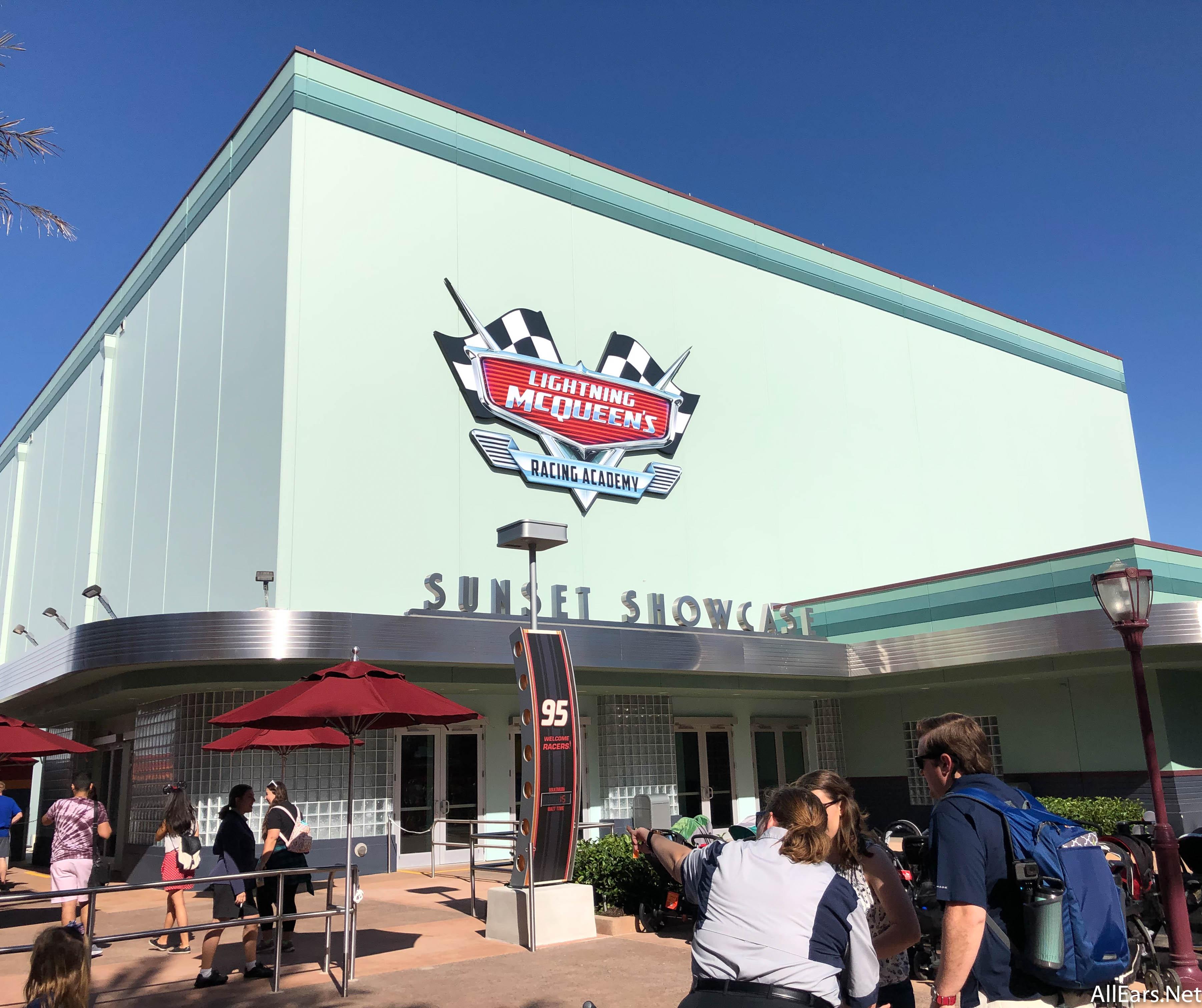 Lightning Mcqueen S Racing Academy Now Open In Disney S Hollywood Studios Allears Net