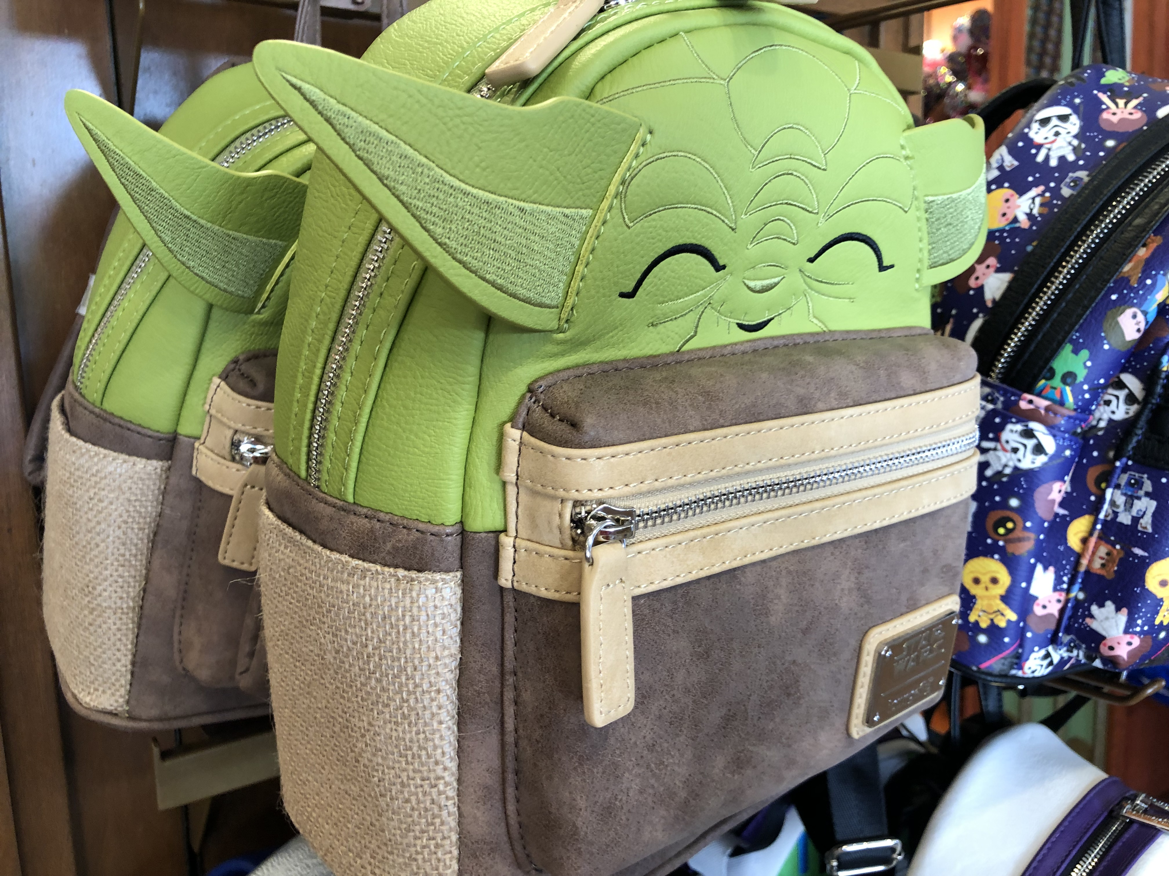 a67b0052788 New Star Wars Loungefly Backpacks Found in Parks - AllEars.Net