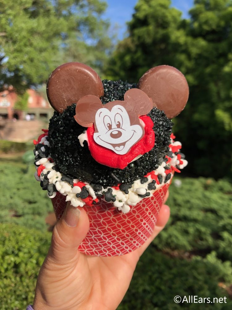 Limited Time Mickey Mouse Club Cupcake At Magic Kingdom