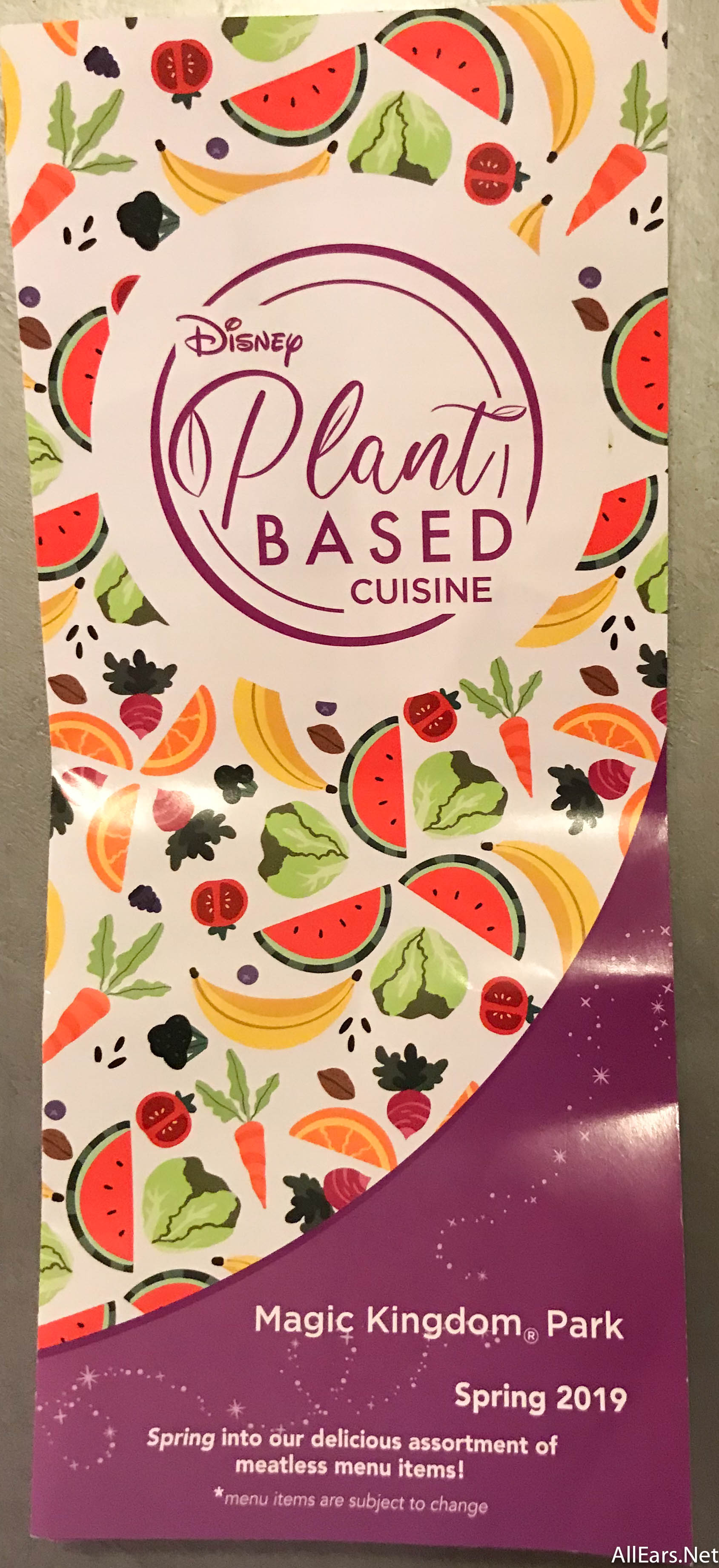 NEW FIND: Plant-Based Cuisine Guide In Disney World - AllEars Net
