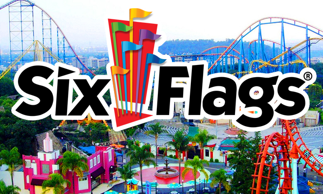 Image result for six flags