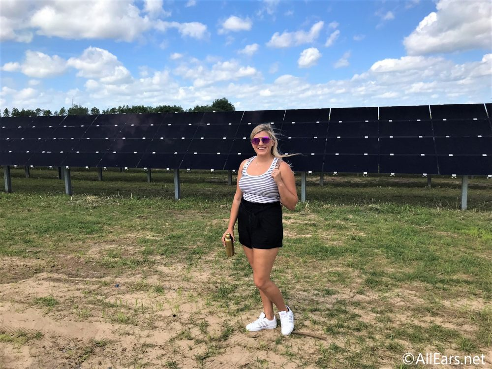 Harnessing The Power Of The Sun We Toured Disney S Giant