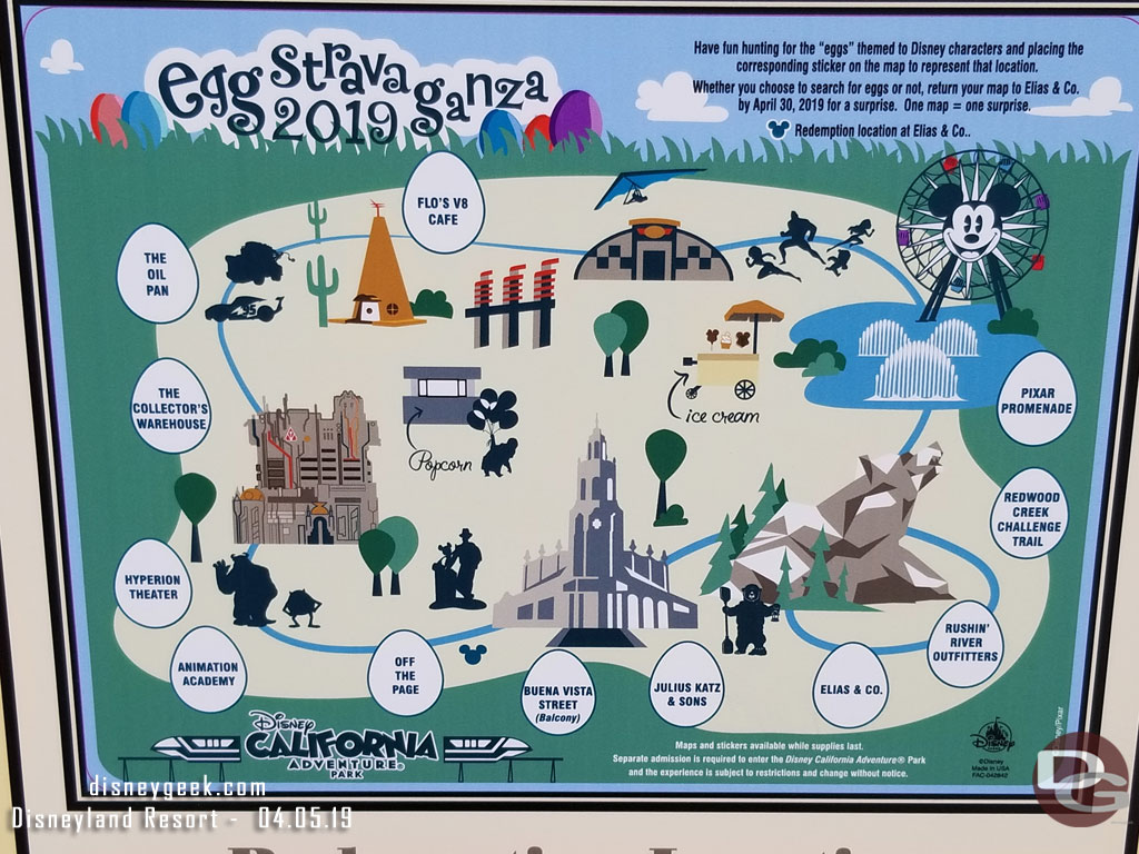 Map Of California Disney.Disney California Map