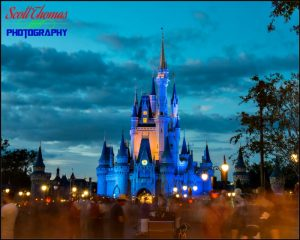 Blue Castle Evening