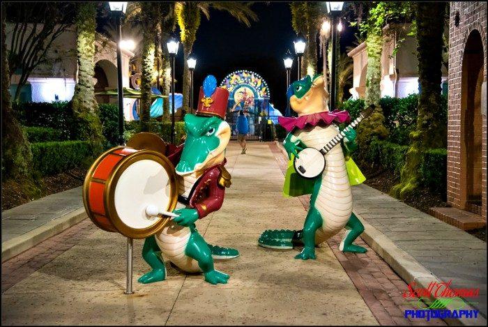 POFQ Alligator Musicians