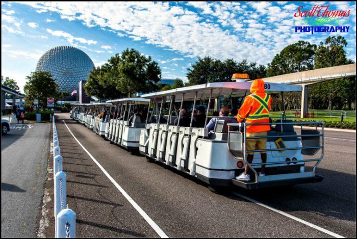Epcot Parking Lot Tram