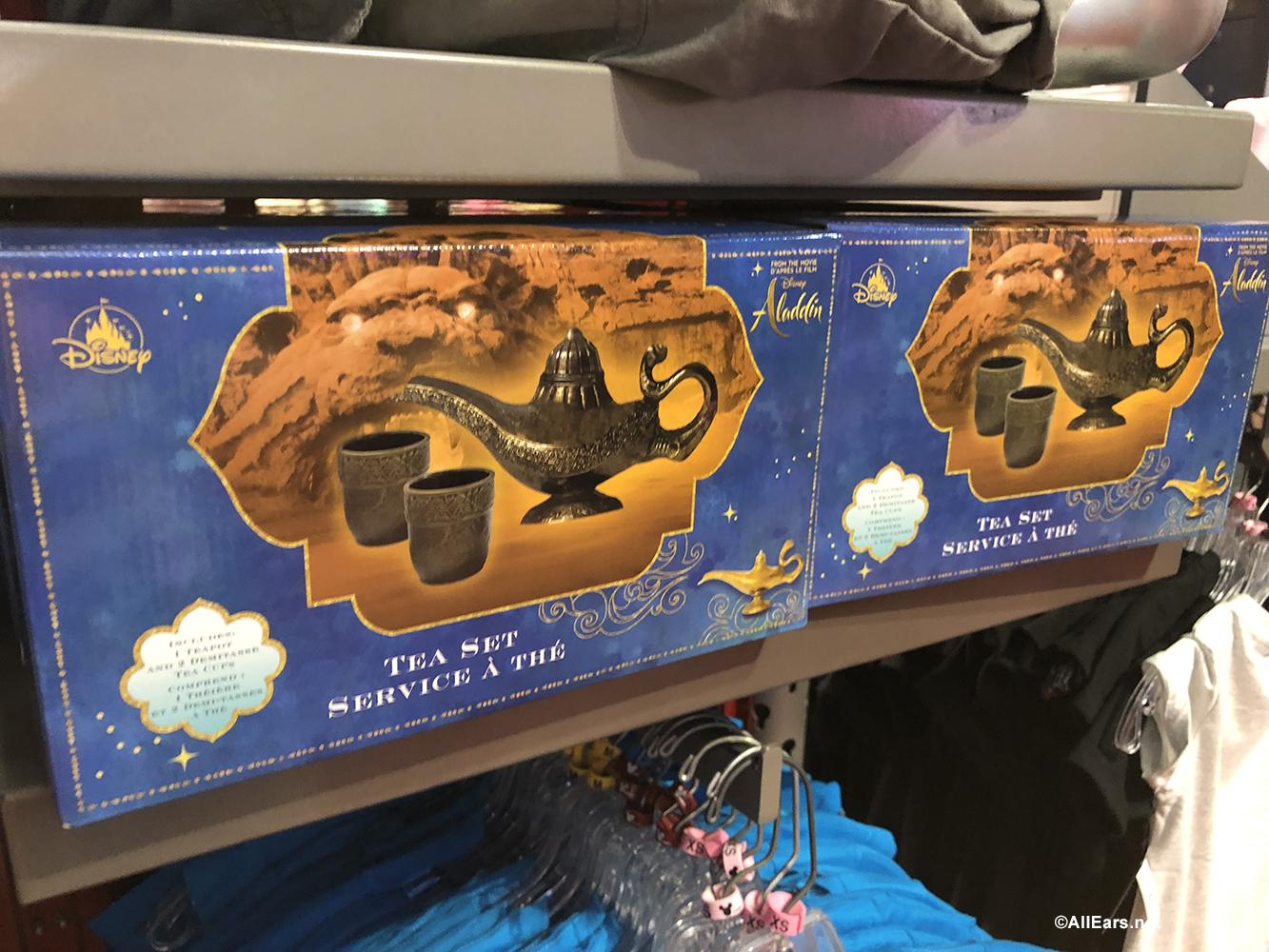 New Aladdin-Inspired Merchandise Materializes in Disney