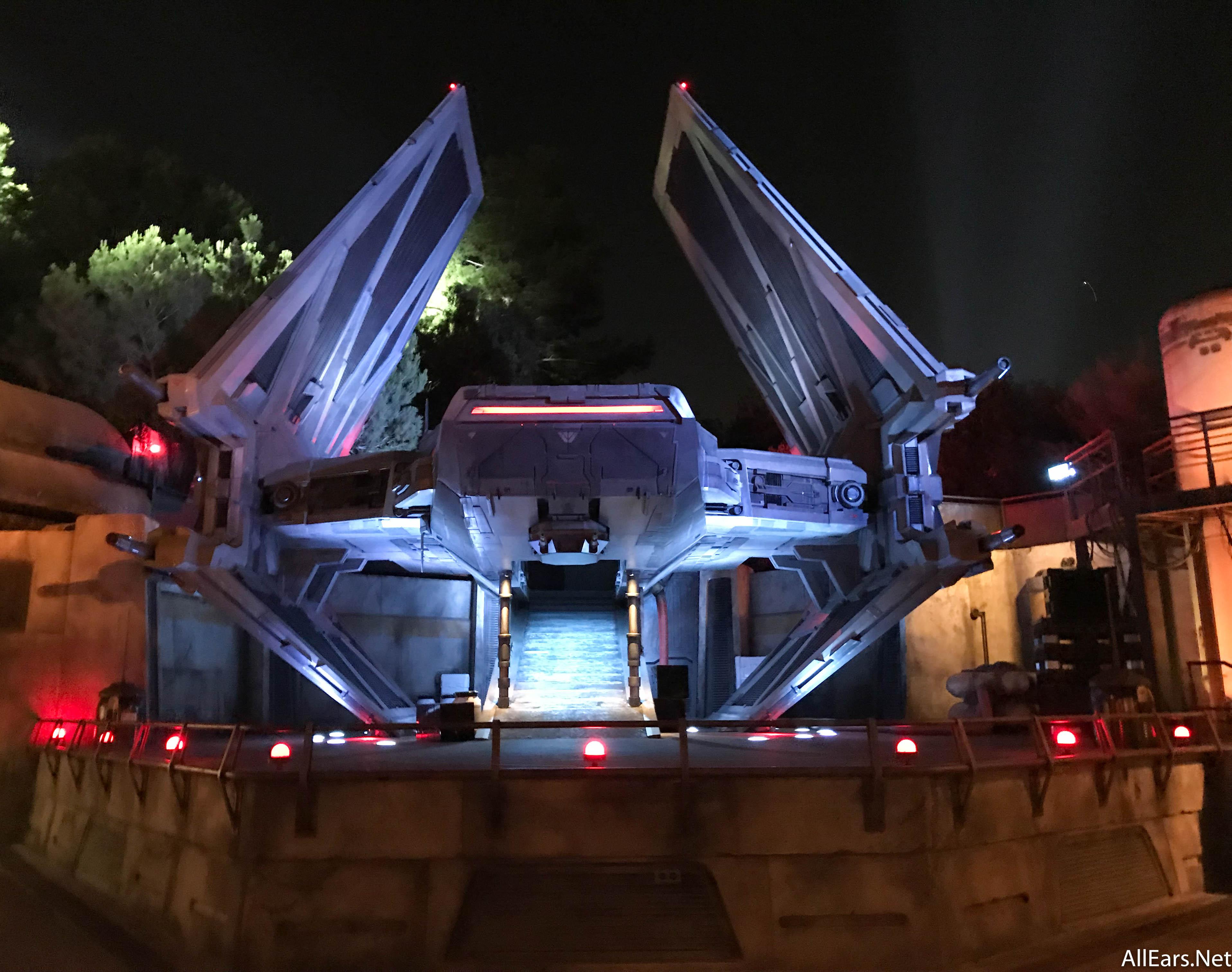 TIE Echelon at Star Wars: Galaxy's Edge