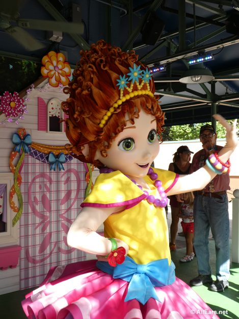 Fancy Nancy Meet an Greet in Hollywood Studios