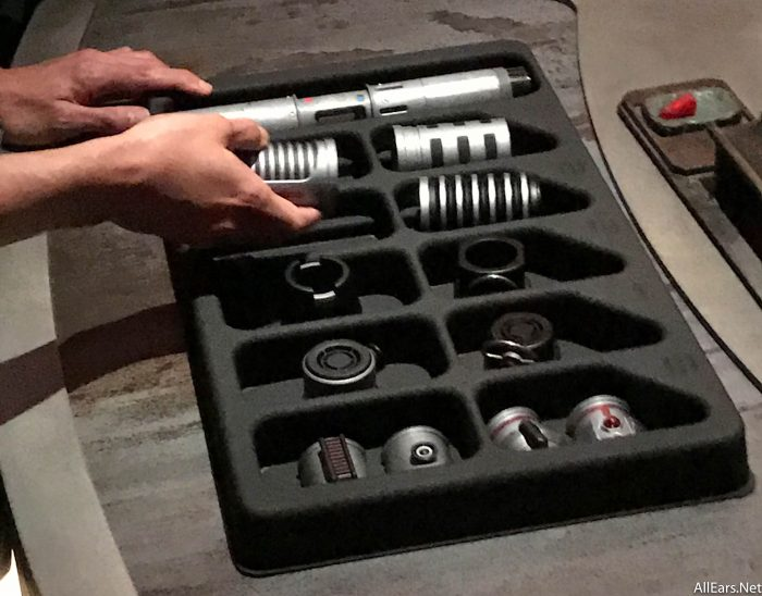 Bring Your Own Parts >> Purple, Green, Blue or Red: Savi's Workshop in Star Wars: Galaxy's Edge Lets You Build Your Own ...