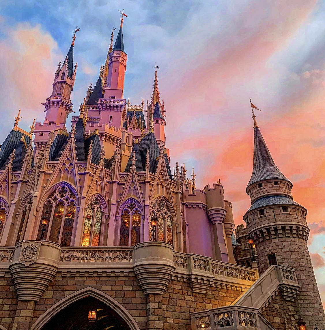 Disney Magic Kingdom Castle Shot Glass NWT