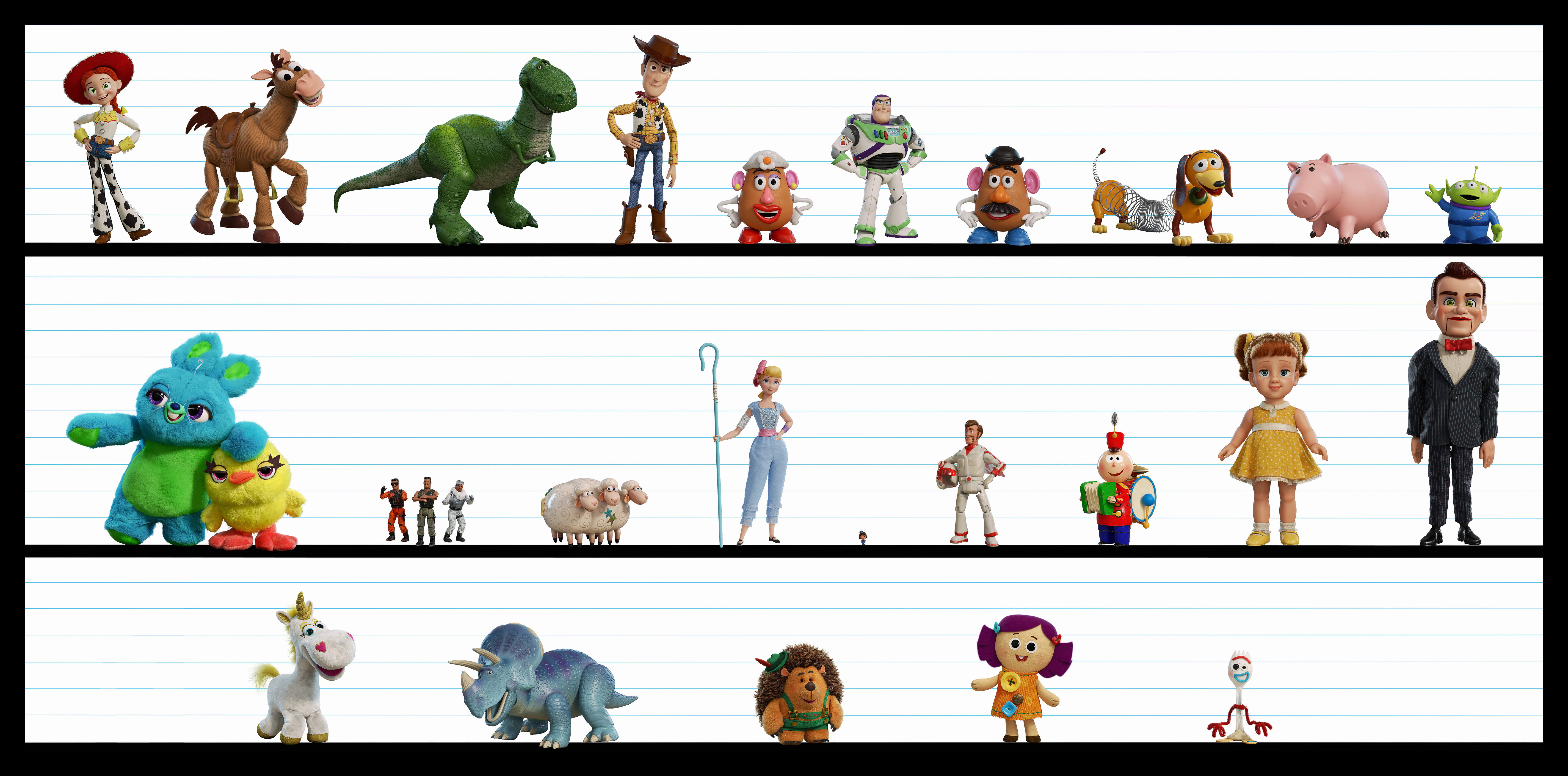 """Early Press Day for """"Toy Story 4"""" Discusses the Evolution ..."""