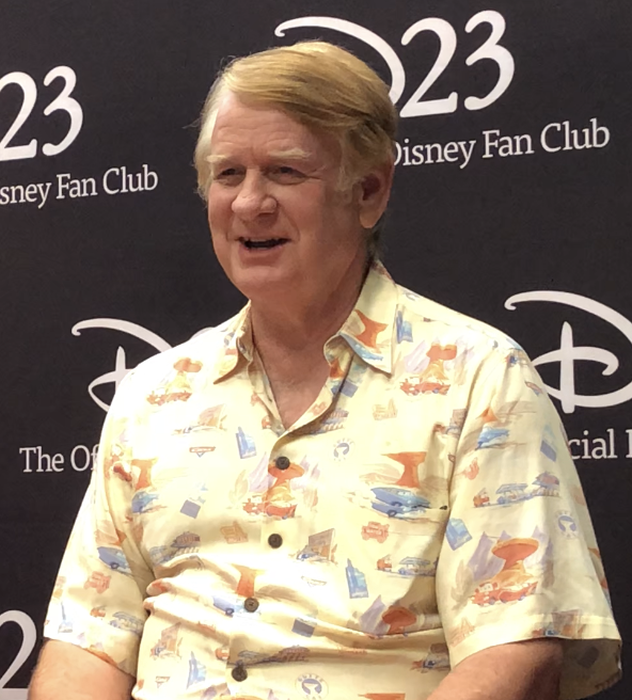 Bill Farmer voice of Goofy