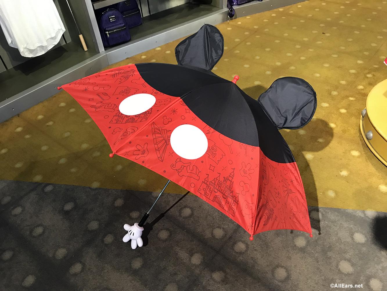 Cute New Disney-Themed Rain Gear Arrives in Disney World
