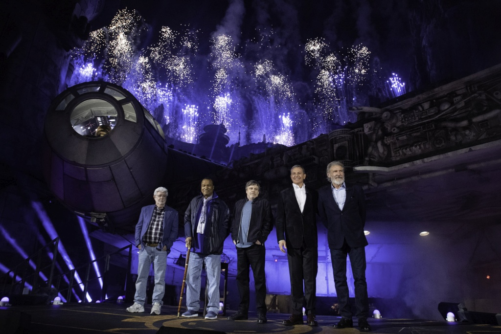 Star Wars: Galaxy's Edge Dedication