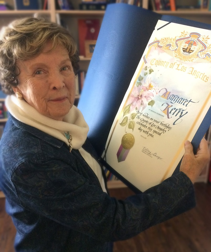 Margaret Kerry, Model for Tinker Bell, Honored on Her 90th Birthday