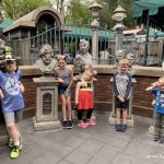 kids at the haunted mansion