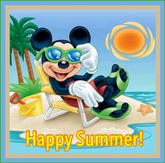 Summer Mickey Mouse
