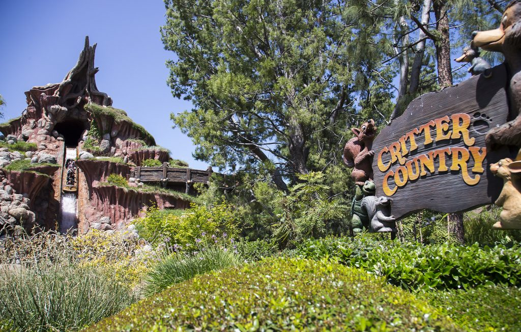 From exhaust fumes to log flumes: The evolution of Splash Mountain