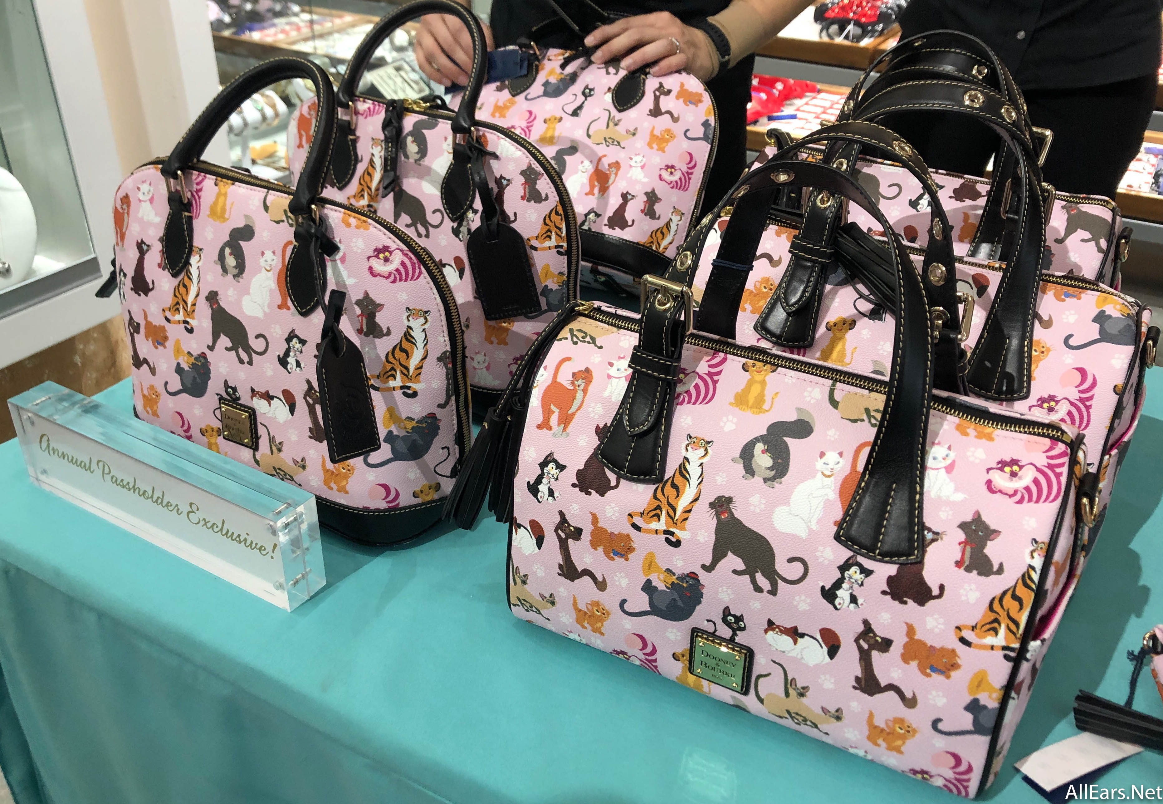 New Dooney And Bourke Cat Collection At Disney Springs