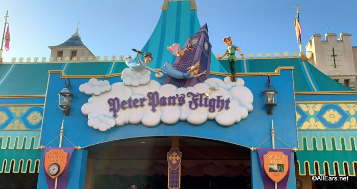 Off to Never Land Riding Disney World's Peter Pan's Flight with