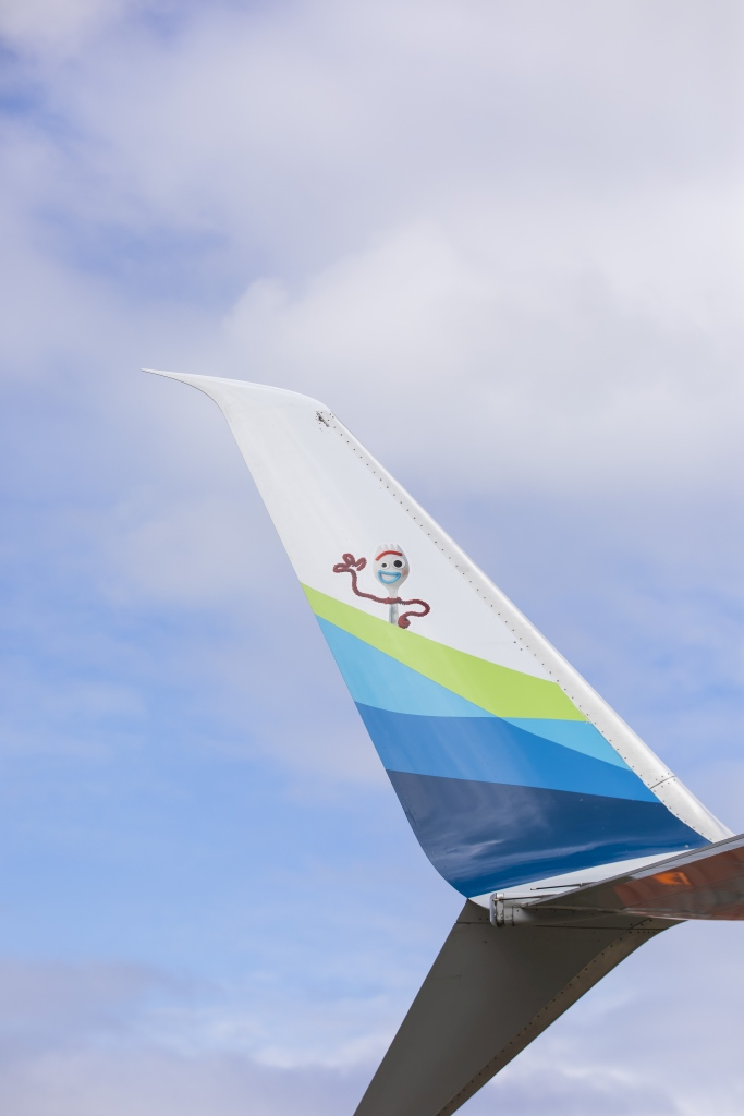 Alaska Airlines Aircraft Features Artwork From Disney And