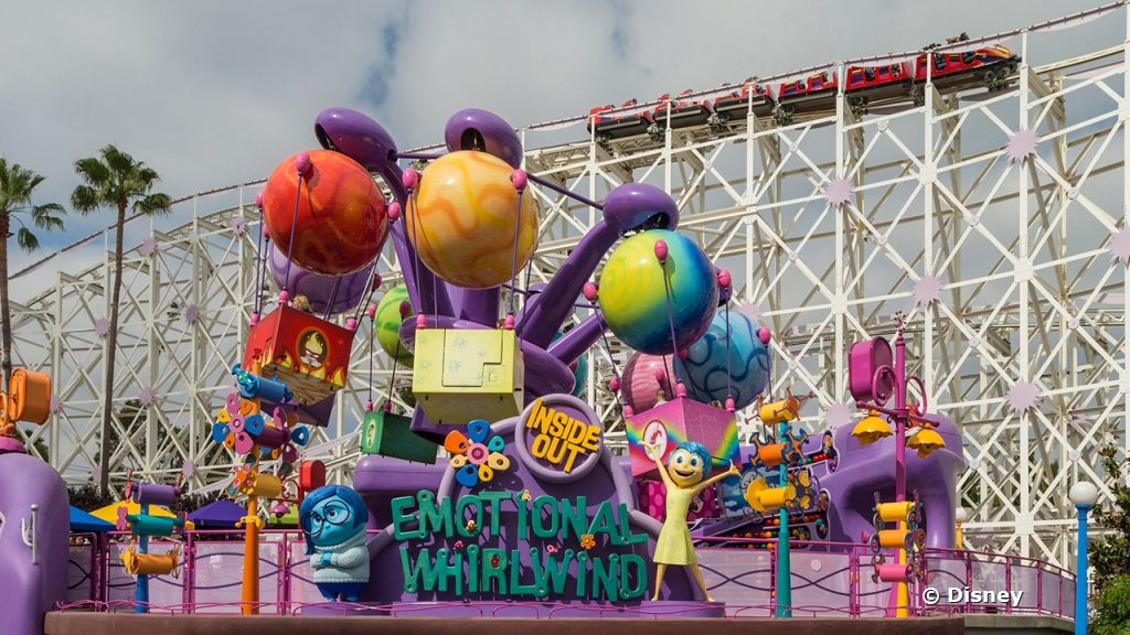 Time to Feel Your Feels: The Inside Out Emotional Whirlwind is NOW OPEN in DCA!
