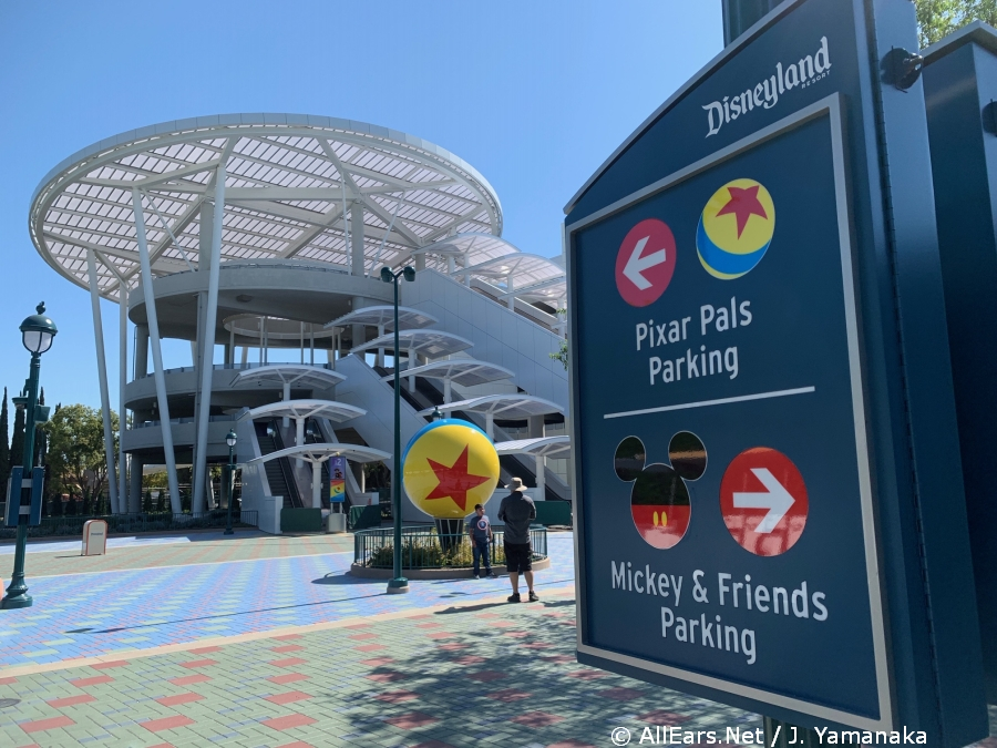 Disneyland's Pixar Pals Parking Structure to Open June 30
