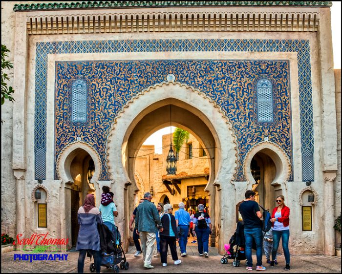 Photographing Morocco's Bab Boujeloud in HDR - AllEars.Net