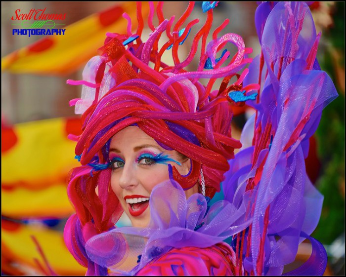 Little Mermaid Parade Dancer