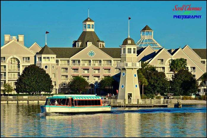 Yacht Club Resort from the water