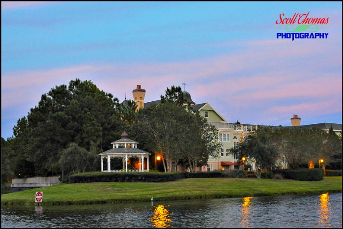 Saratoga Springs Resort from the water