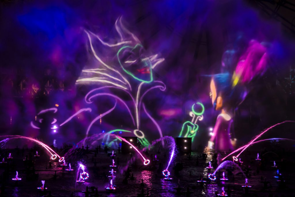 Preview New Halloween World Of Color Quot Villainous Quot To