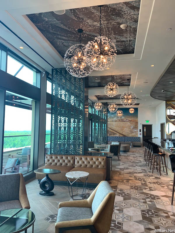 Check Out the Restaurant and Lounges of Disney World's New