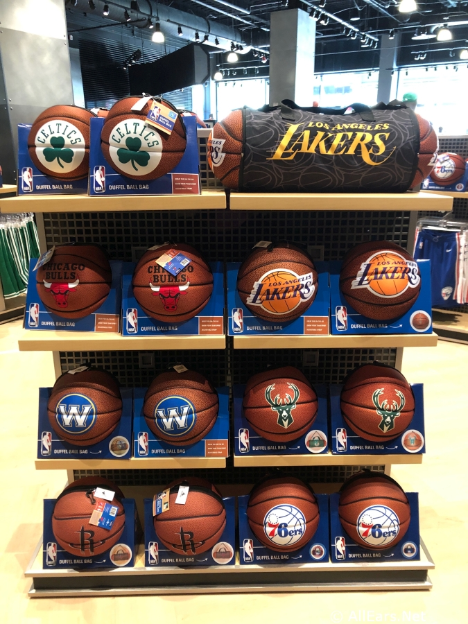 pretty nice 3b99d 641f5 First Look: NBA Experience Shop Now Open in Disney Springs ...