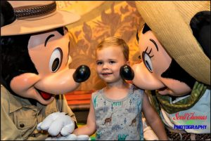 Meeting Adventurers Mickey and Minnie Mouse