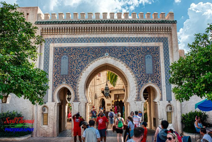 Bab Boujeloud Gate in HDR 2