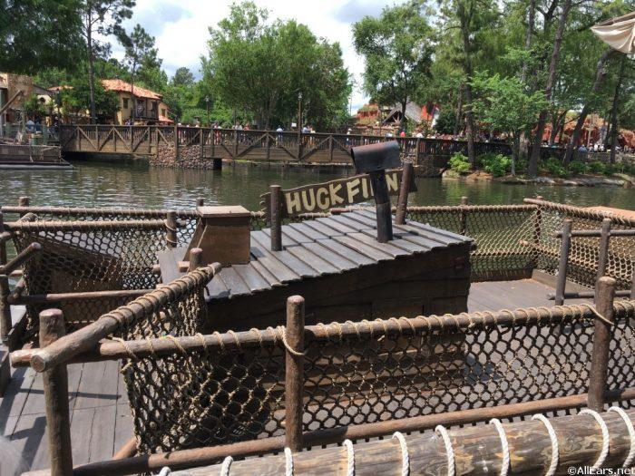 Raft Standing Area
