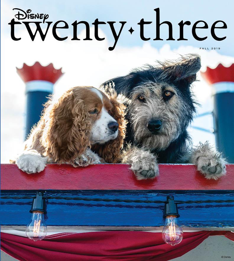 Preview D23's Fall Edition of Disney twenty-three Magazine