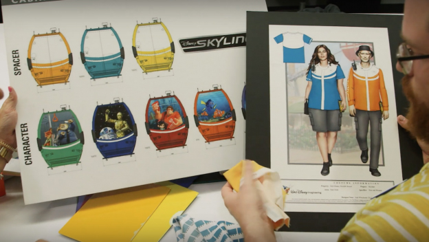 Preview: Disney Shares Inside Look at Skyliner Cast Costumes