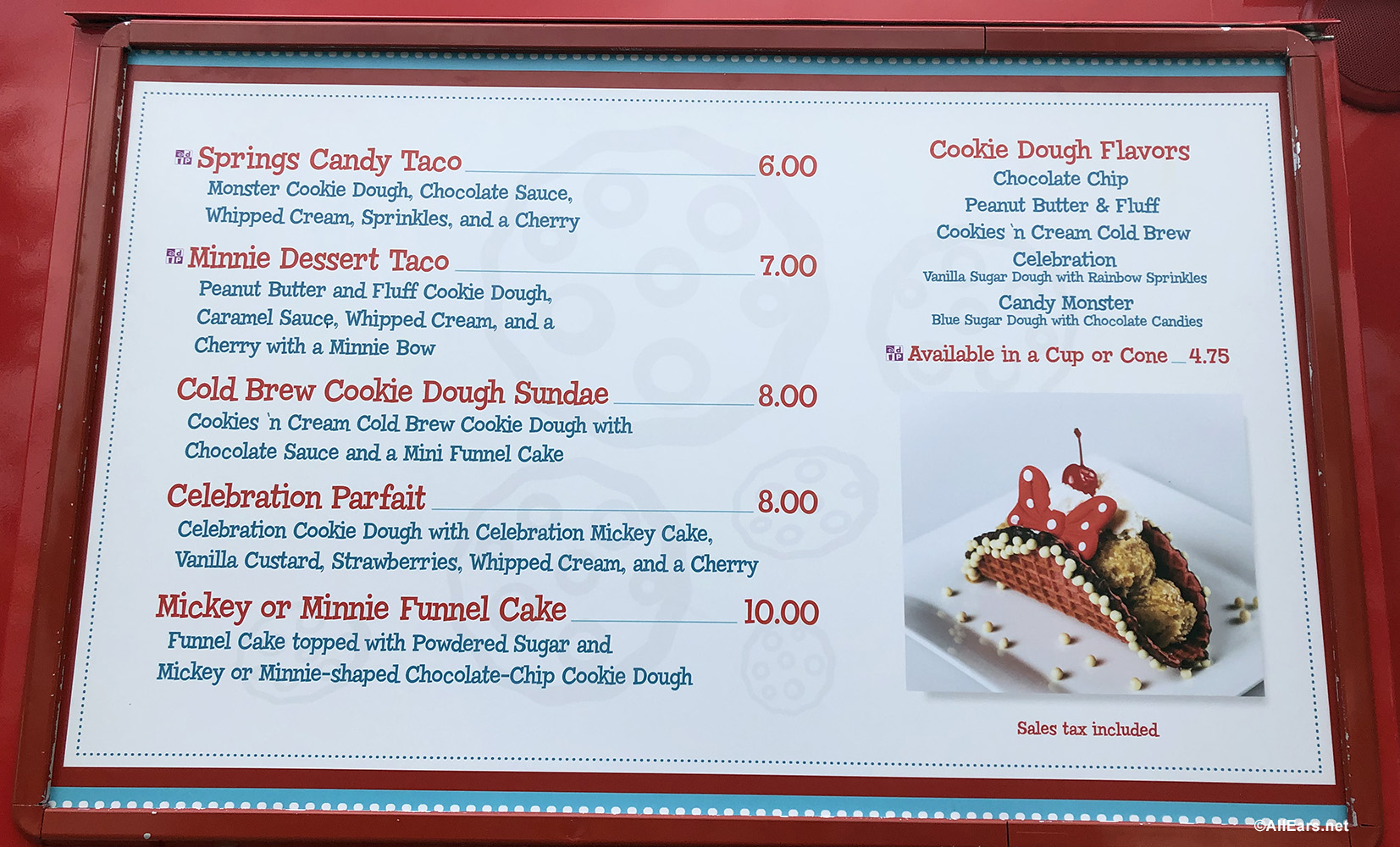Now Open Cookie Dough And Everything Sweet Food Truck